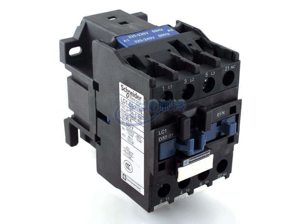 lc1e3201接触器接线图