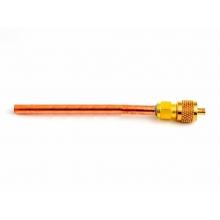 鸿森单向充注阀-优质芯 2分 铜管长91mm 5只/板