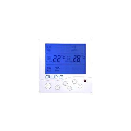 欧恩中央空调温控器OW-AC8001F 液晶温控器