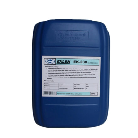 艾克 EK-230  25kg  碱式反渗透膜阻垢剂 反渗透阻垢剂