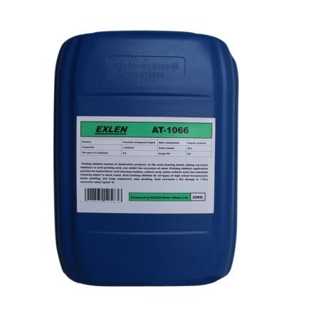 艾克 AT-1066  25kg  酸洗缓蚀剂 高效油田缓蚀剂 优质酸性管道清洗剂