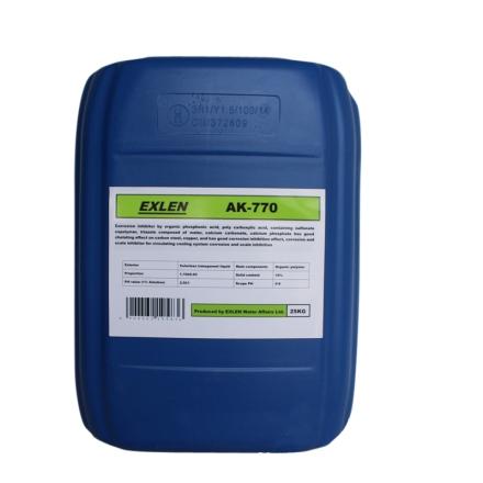艾克 AK-770  25kg  高硬度水酸性膜阻垢剂 高铁离子水阻垢分散剂