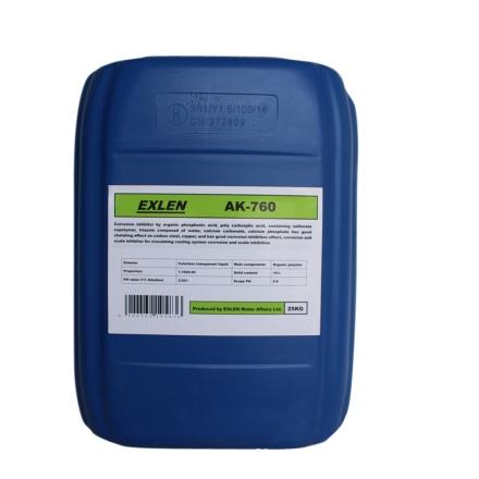 艾克 AK-760  25kg  緩蝕阻垢劑 含磺酸鹽共聚物等 緩蝕效果好