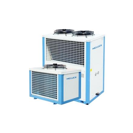 美乐柯箱式制冷机组12匹 XJQ12MBG库温-5~5度R22中温保鲜冷库机组