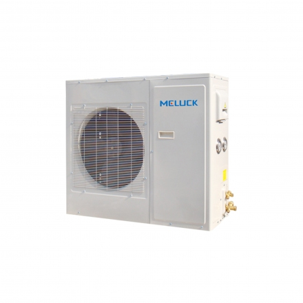 美乐柯箱式制冷机组5匹 XJQ05LAG库温-15~-25度R22低温急冻冷库机组