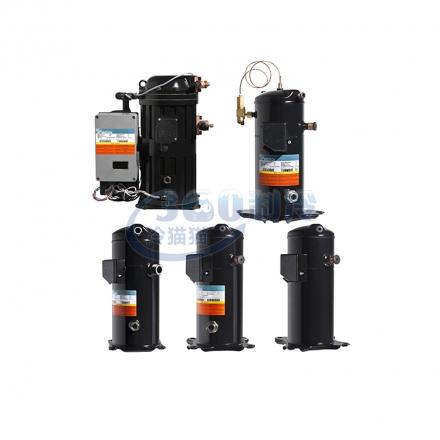 英华特YSF65A1G-V100半封涡旋压缩机R22对应QF125A冷库设备压缩机
