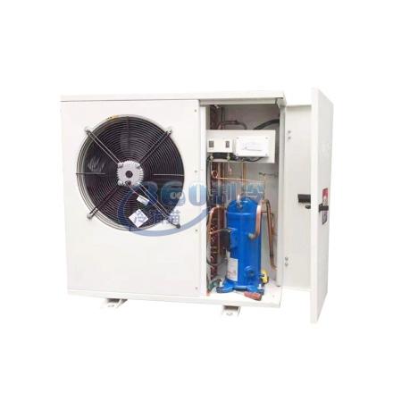 丹佛斯全配置3匹冷庫制冷機組R404 中低溫冷庫制冷機組設備側出風