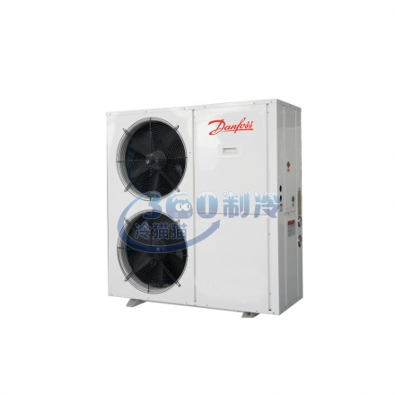 丹佛斯全配置15匹冷庫制冷機組R22 中高溫冷庫制冷機組設備頂出風