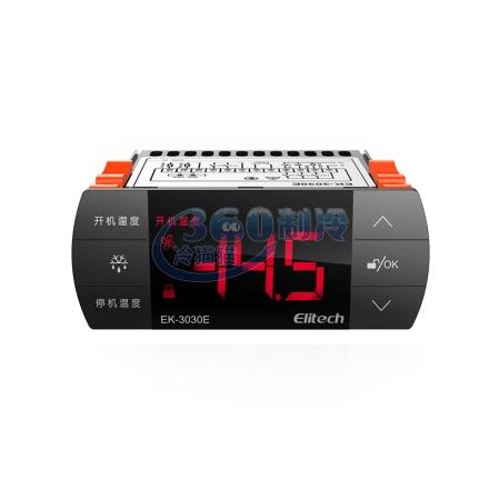精創EK-3030E溫度控制器 雙傳感器 帶485通訊 冷藏冷庫溫控器