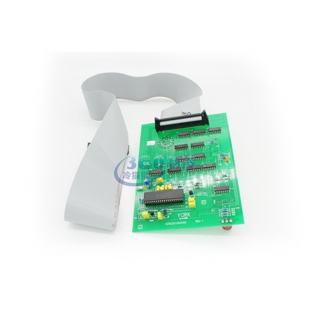 YORK約克顯示板025L02125-001中央空調機組電腦板維保配件電子板